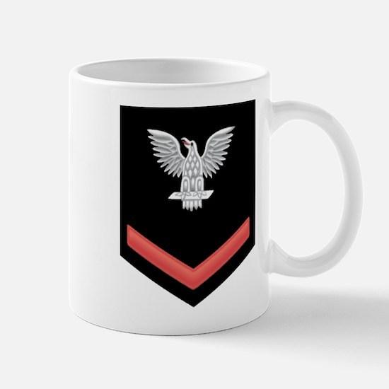 Petty Officer Third Class Red Mug