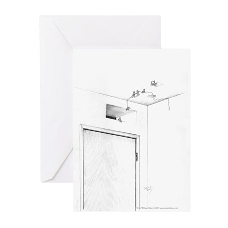 Exit Greeting Cards (Pk of 10)
