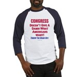 Congress Doesn't Give A Damn Baseball Jersey