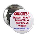 "Congress Doesn't Give A Damn 2.25"" Button"