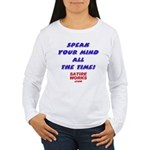 New Section Women's Long Sleeve T