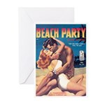 """Greeting (10)-""""Beach Party"""""""