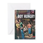 "Greeting (10)-""Boy Hungry"""