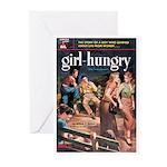 "Greeting (10)-""Girl Hungry"""