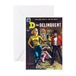"""Greeting (10)-""""D For Delinquent"""""""