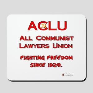 ACLU All Communist Mousepad