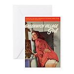 """Greeting (10)-""""Greenwich Village Girl"""""""