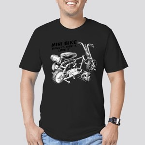 Minibike Love it Men's Fitted T-Shirt (dark)