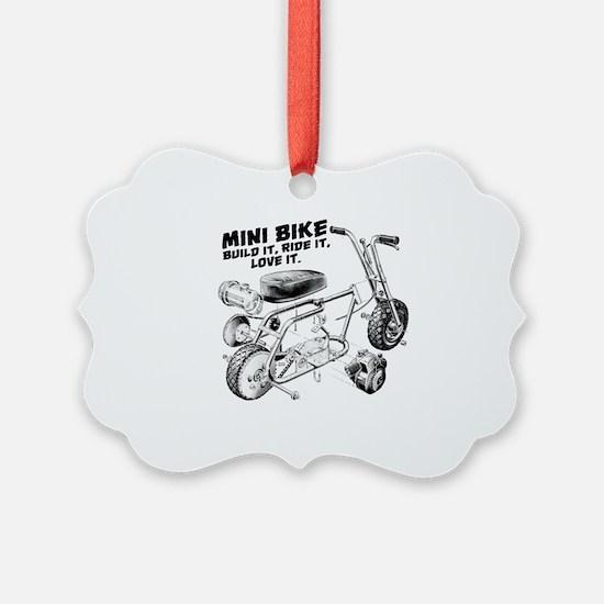 Minibike Love it Ornament