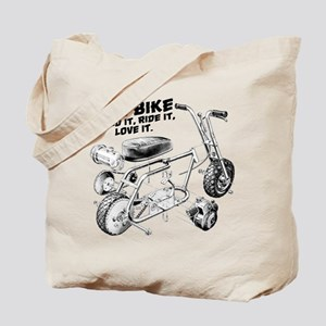 Minibike Love it Tote Bag
