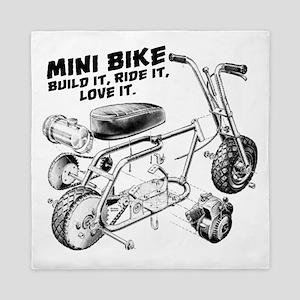 Minibike Love it Queen Duvet