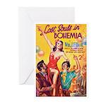 "Greeting (10)-""Lost Souls in Bohemia"""