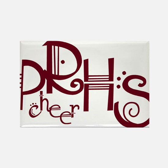 PRHS cheer (4) Rectangle Magnet