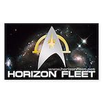 Horizon Fleet Rectangle Sticker 10 pk)