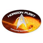 Horizon Fleet Oval Sticker (10 pk)