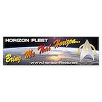 Horizon Fleet Bumper Sticker