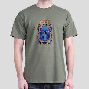 Egyptian Scarab Dark T-Shirt
