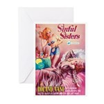 """Greeting (10)-""""Sinful Sisters"""""""