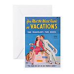 "Greeting (10)-""The Traveler's Fun Book"""