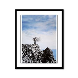 Life and Death Framed Panel Print