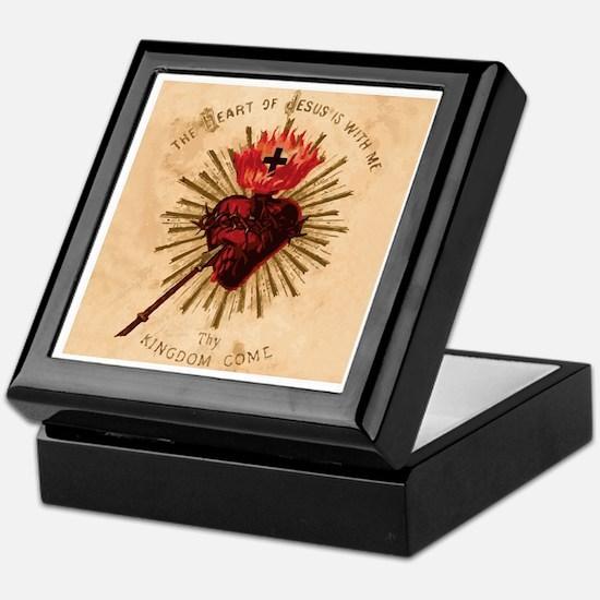 Sacred Heart of Jesus Keepsake Box