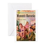 "Greeting (10)-""Women's Barracks"""