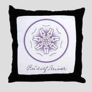 Moon Seal Throw Pillow