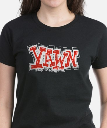 Yawn Women's Dark T-Shirt