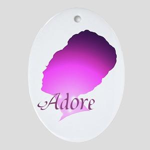 Adore Oval Ornament