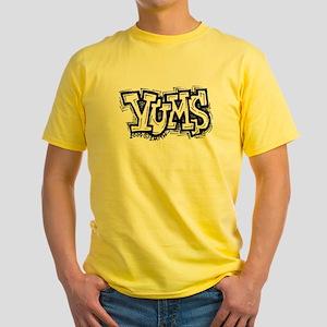 Yums Yellow T-Shirt