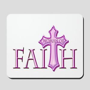 Woman of Faith Mousepad