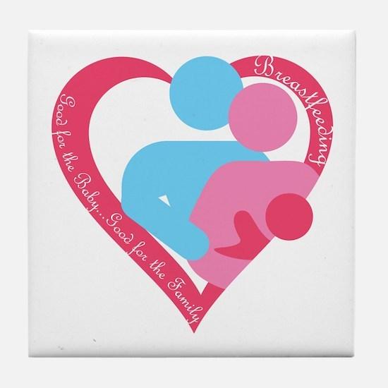 Good for the Family Tile Coaster