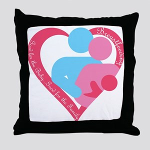 Good for the Family Throw Pillow
