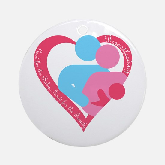 Good for the Family Ornament (Round)