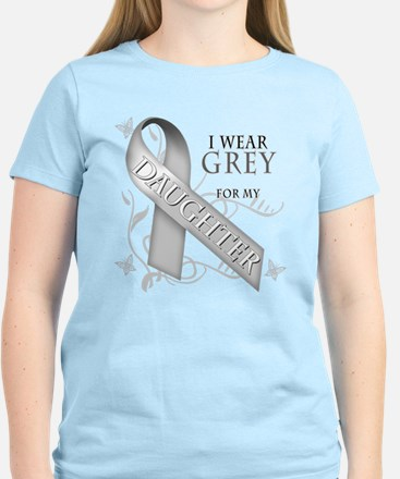 I Wear Grey for my Daughter Women's Light T-Shirt