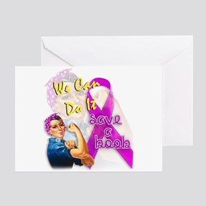 Save A Boob Breast Cancer Awareness Greeting Card