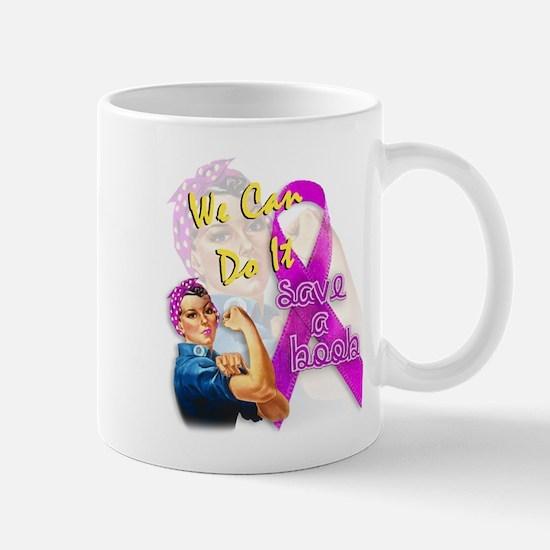Save A Boob Breast Cancer Awareness Mug