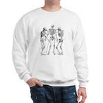 3 skeletons Sweatshirt