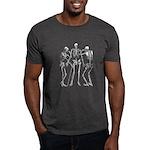 3 skeletons Dark T-Shirt