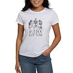 3 skeletons Women's T-Shirt