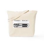 Tubes Rock Tote Bag