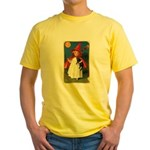 little witch Yellow T-Shirt