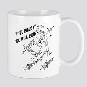 Minibike Build It 11 oz Ceramic Mug