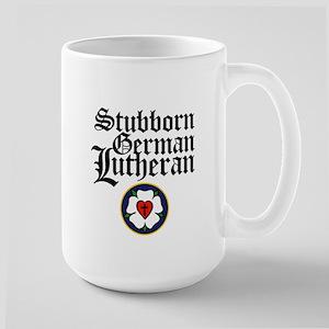 Stubborn German Lutheran Large Mug