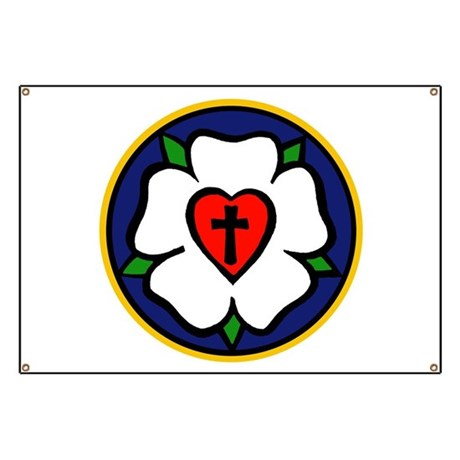 Luther Rose Banner