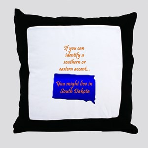 That Accent! Throw Pillow