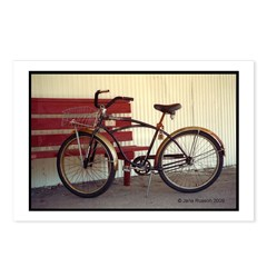 Bicycle Bench Postcards (Package of 8)
