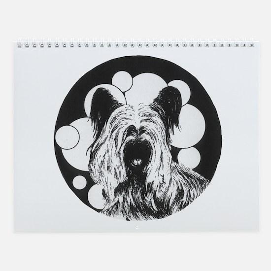 Skye Terrier Wall Calendar