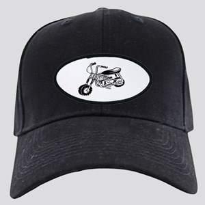 Minibike Black Cap with Patch