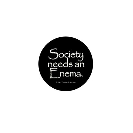 Society Mini Button